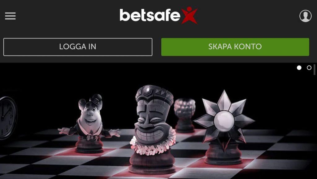 Betsafe Casinos lobby