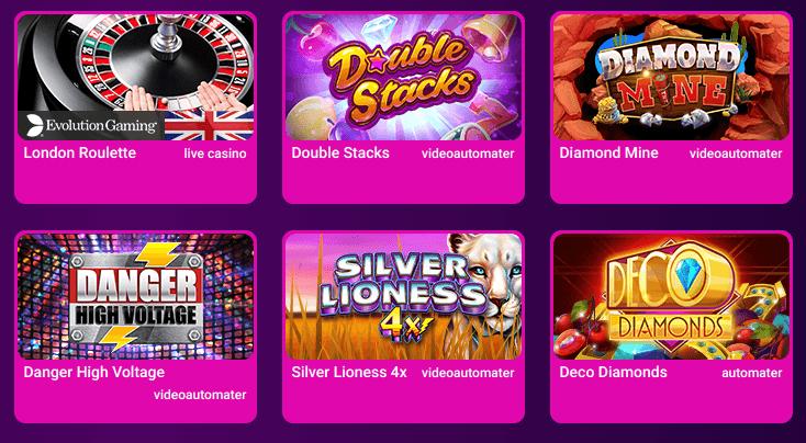 no bonus casino spel