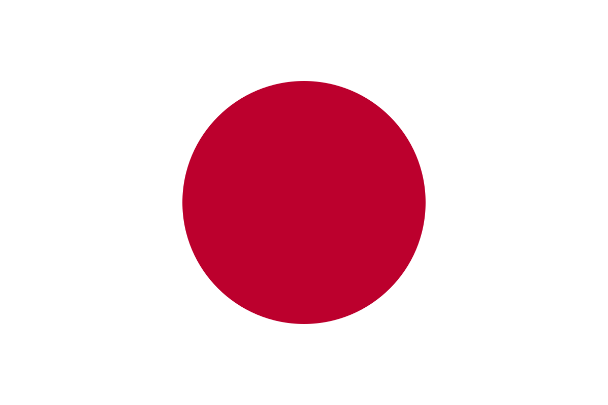 japans flagga