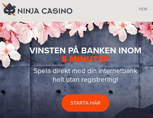 ninja casino snabba uttag