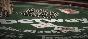 Spela blackjack hos betway