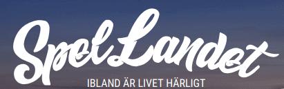 SpelLandet logo slogan
