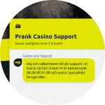 Prank Casino livechatt
