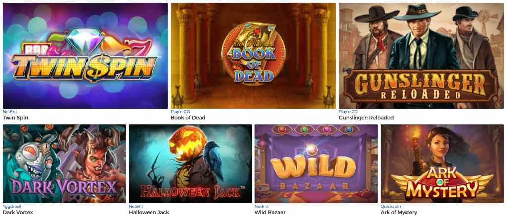 Pronto Casinos slots