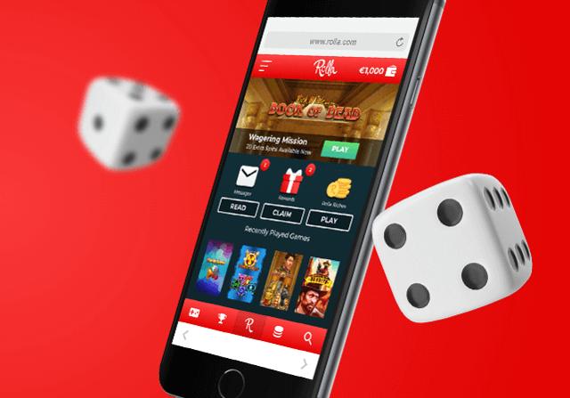 Rolla Casino mobil