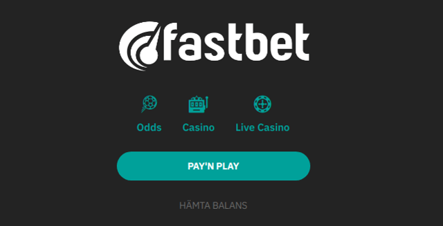 Fastbet casino utan konto