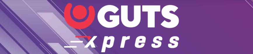 Guts Xpress branding
