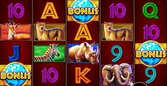 Safari King spelautomat