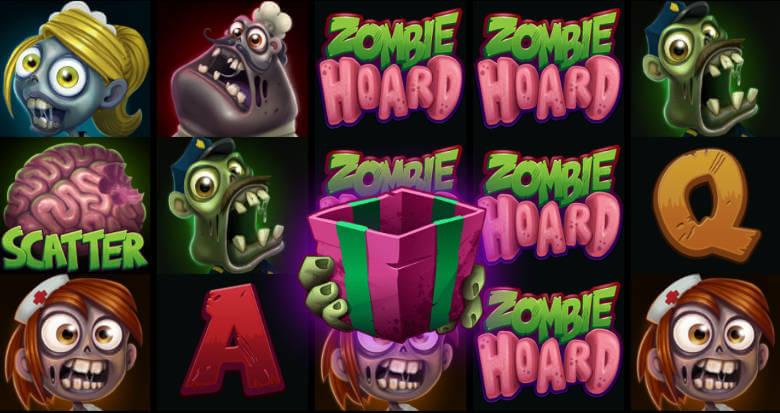 Zombie Hoard symboler