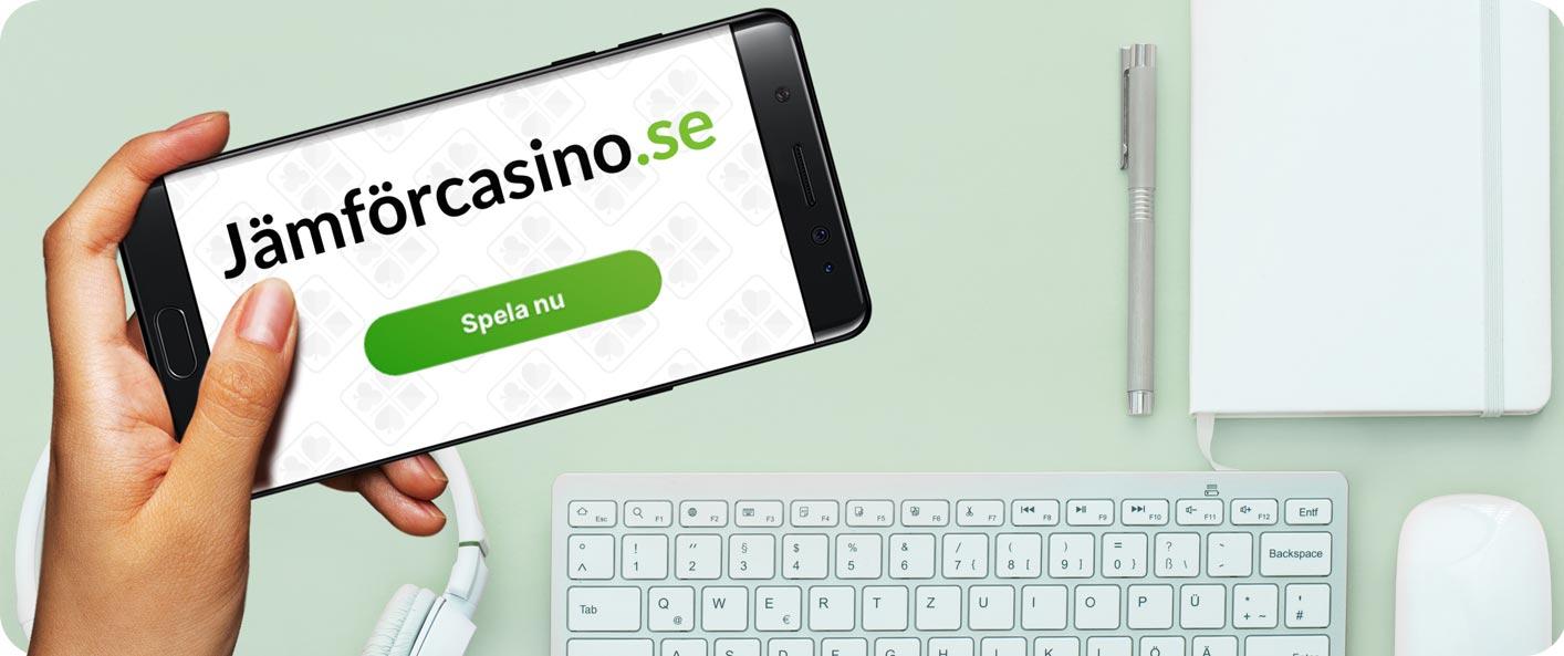 Spela bästa casino online 2020- jämförcasino.se