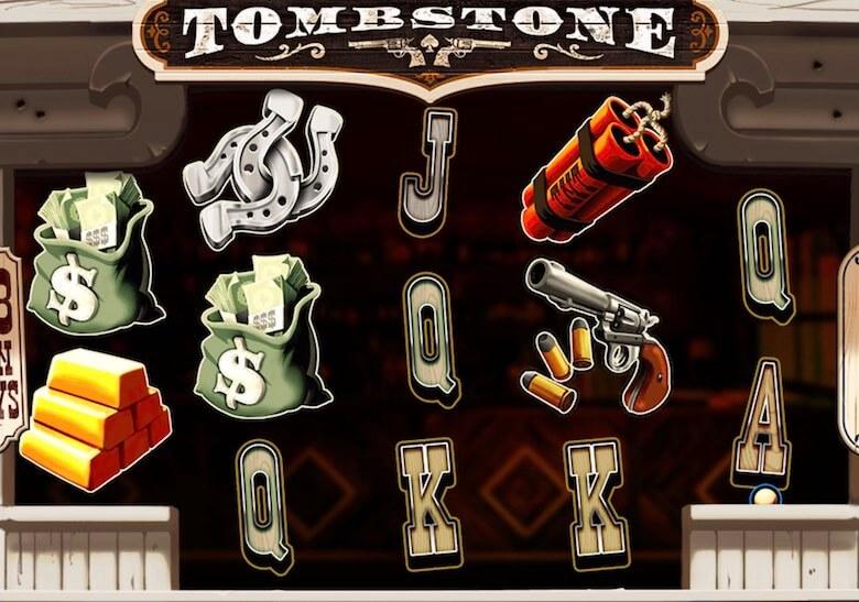 Tombstone symboler