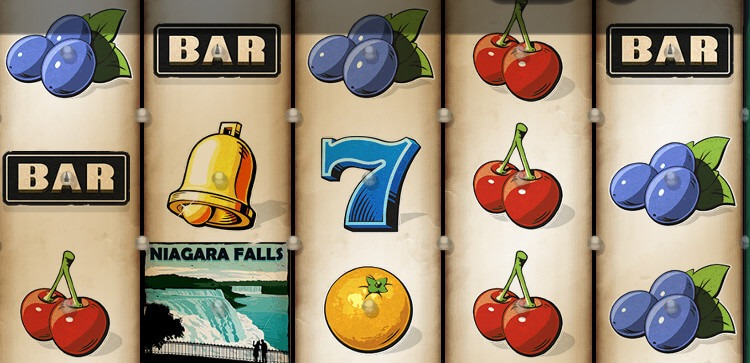 Niagara Falls slot symboler