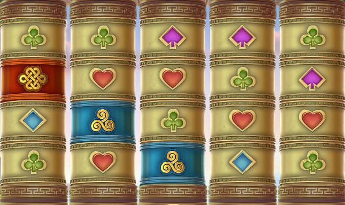Wild Mantra symboler