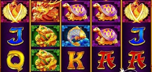 5 Lions Gold symboler