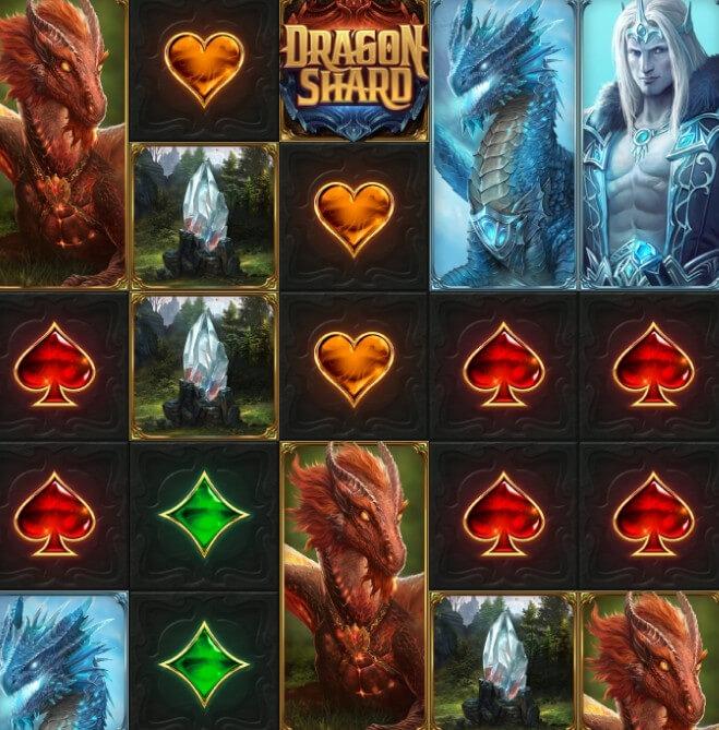 Dragon Shard symboler