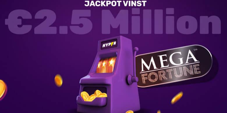 Hyper Casino jackpott