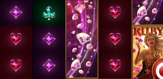 Ett axplock av Ruby Casino Queens flådiga symboler