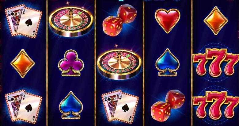 Vegas High Roller symboler