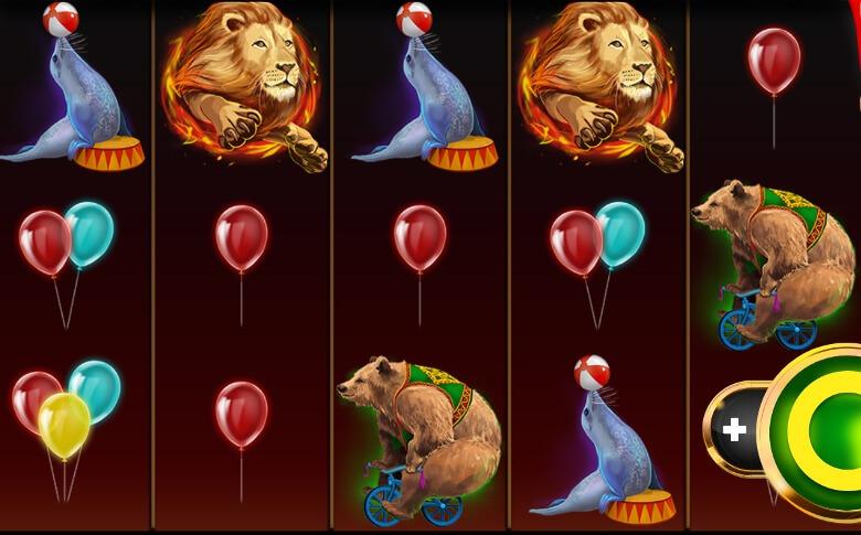 Booming Circus symboler