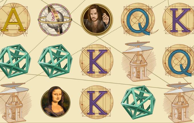 The Da Vinci Device symboler