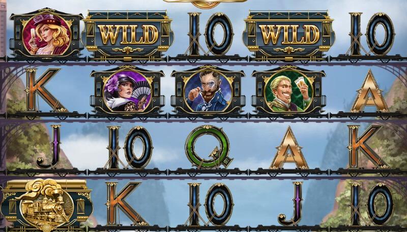 Wild rails symboler