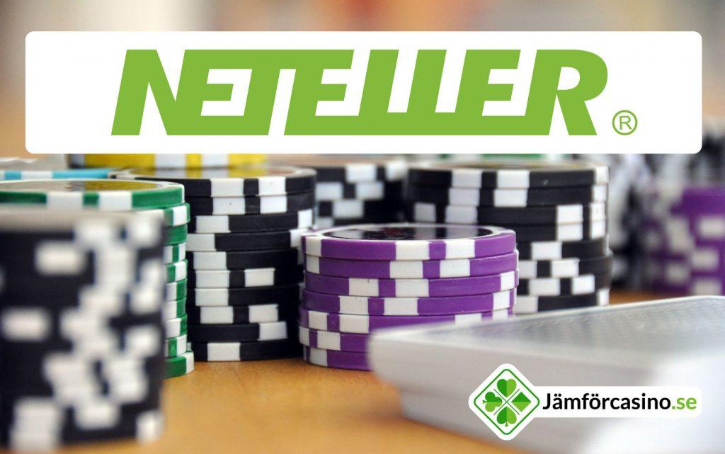 Spela online på neteller casinon