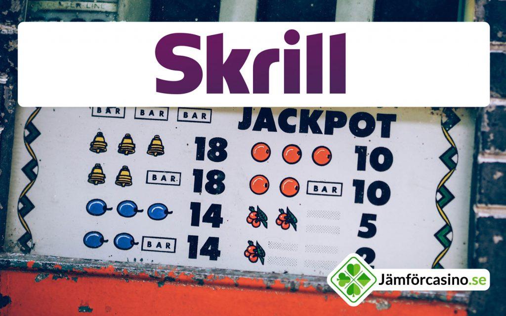 Spela online på Skrill Casino