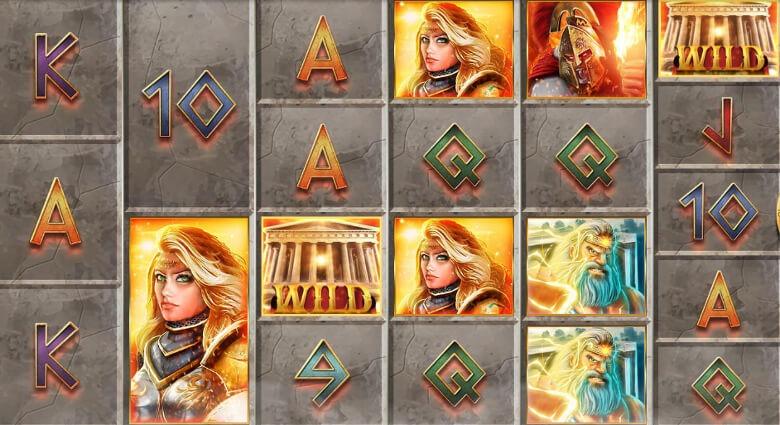 Gods of Olympus MegaWays symboler