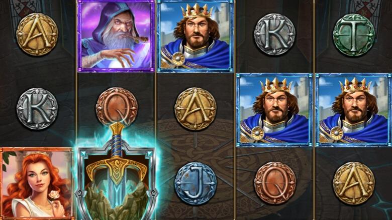 The Sword & The Grail symboler