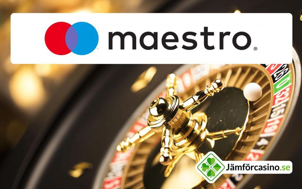 Spela maestro casino online