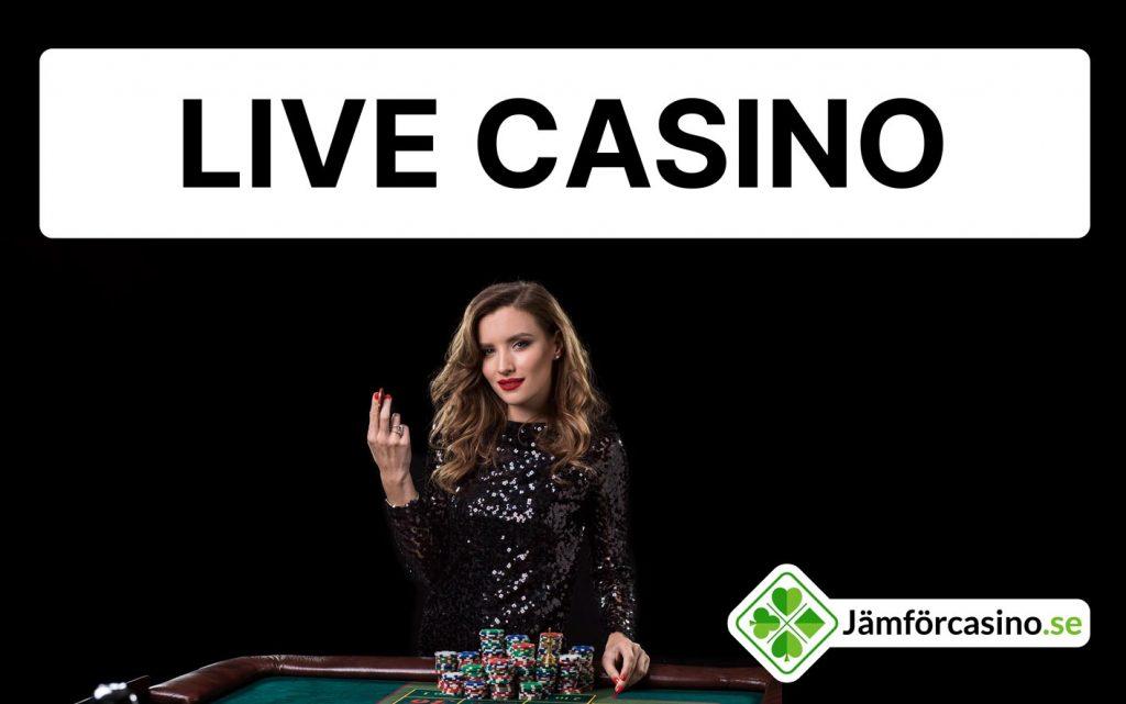 Spela casino live online