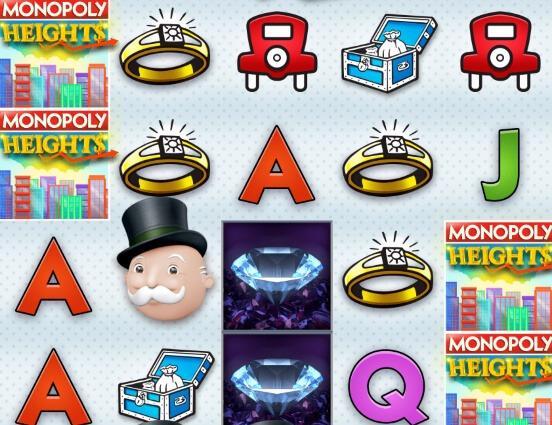 Monopoly Heights symboler