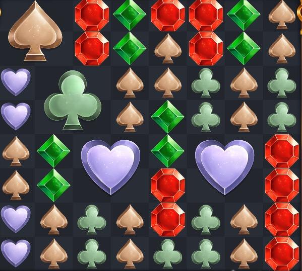 Royal Gems symboler