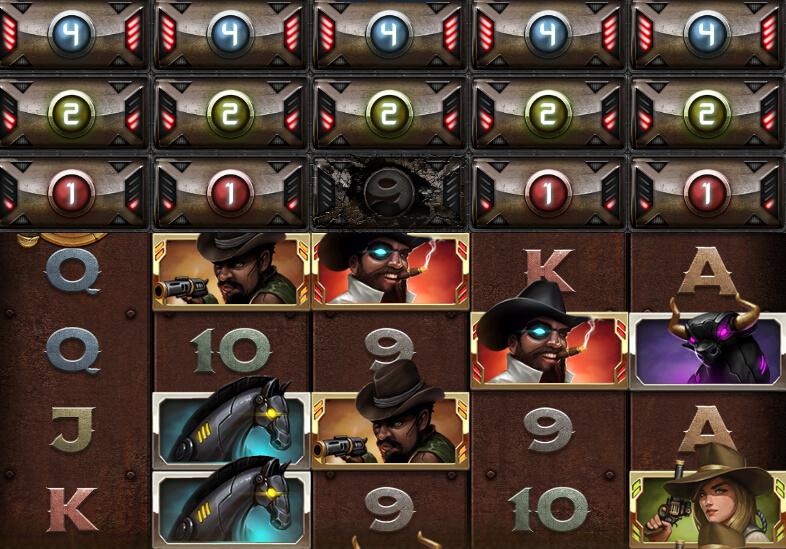 Big Bounty Bill symboler