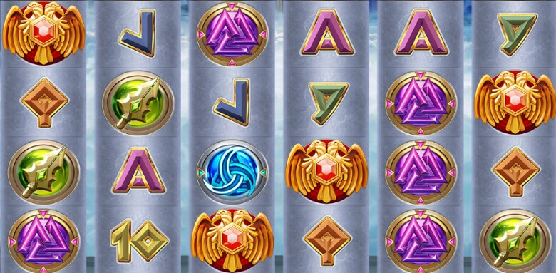 Pillars of Asgard symboler