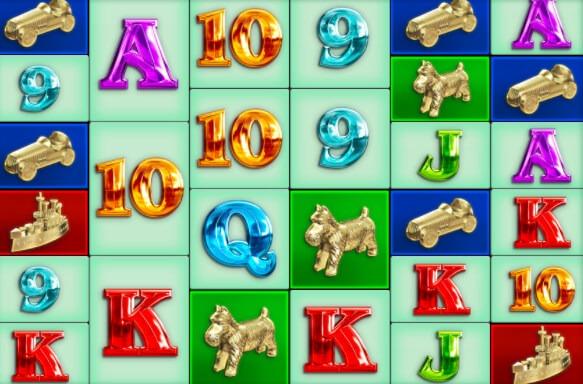Monopoly MegaWays symboler