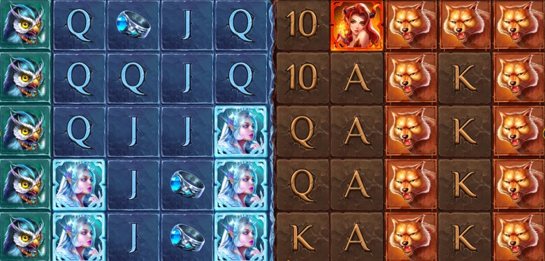 Ice and Fire symboler