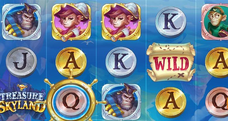 Treasure Skyland symboler