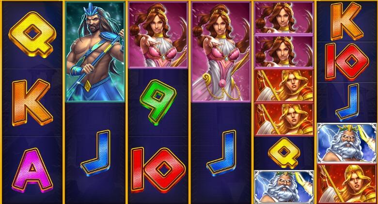 Legacy of the Gods symboler