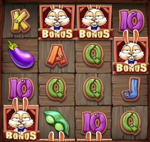 Bonus Bunnies symboler